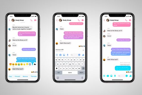 Finally! Facebook Messenger is adding a threaded quote reply feature