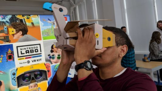 Hands-On: Nintendo Labo VR Kit Is Totally Good Enough