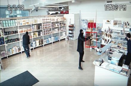 A.I. security camera can identify guns with 99 percent accuracy