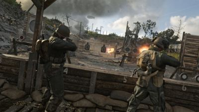 First Look At Call Of Duty: WWII's Headquarters Mode