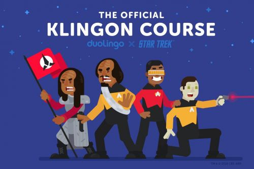 Duolingo can now teach you how to speak Klingon