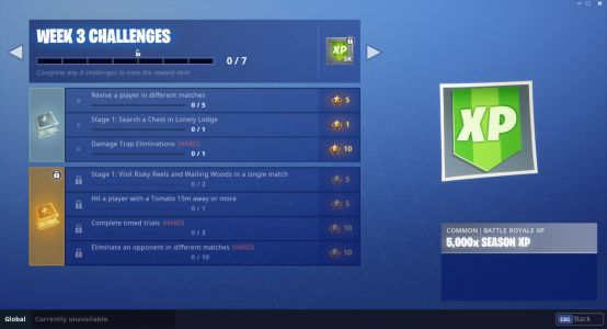 Fortnite Challenges Season 6, Week 3: Complete Timed Trials, Hit A Player With Tomato, And More