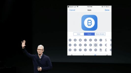 Apple introduces a glorious Bitcoin glyph in iOS 12