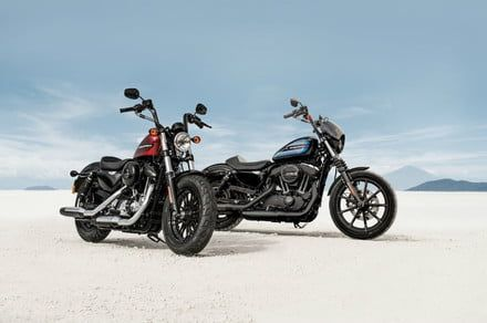 Harley-Davidson's new sportsters are factory-modified street machines