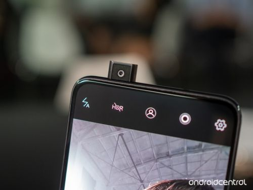 Pop-up cameras are just the evolution of the slider phone