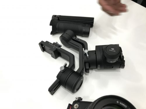 DJI introduces a Ronin stabilizer for mirrorless cameras