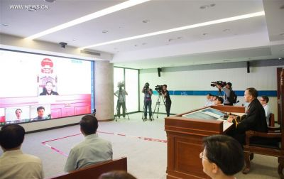 China's online court heard its first case today