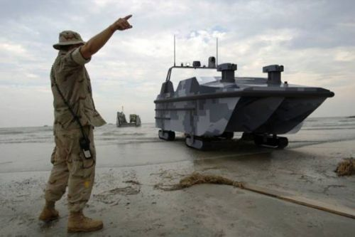 China reveals 'Marine Lizard' amphibious autonomous landing vehicle