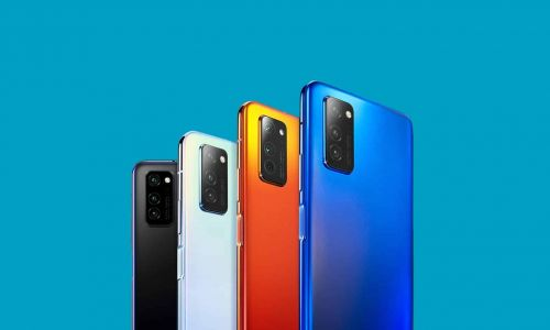 Honor Smartphone with Model MOA-AL00 Surfaces Online with Matrix Cameras, Waterdrop Notch