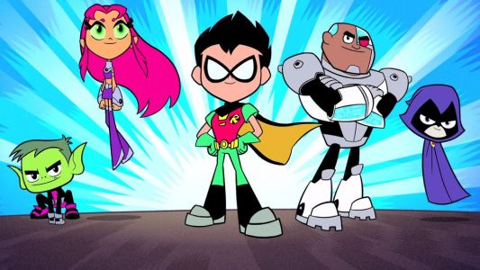 There's a Animated TEEN TITANS GO! Movie Coming to Theaters in 2018
