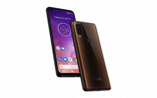 Motorola One Vision punch hole confirmed by 3D render