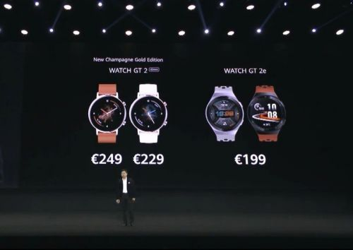 Huawei announces the Watch GT2e and Sound X speaker, launching from April