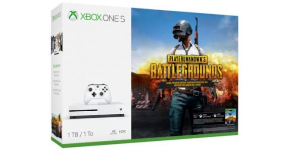 Le pack Xbox One S 1 To + PlayerUnknown's Battlegrounds dispo à 299€
