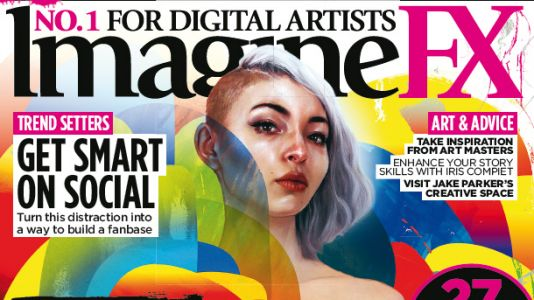 Learn surreal painting secrets with ImagineFX issue 161