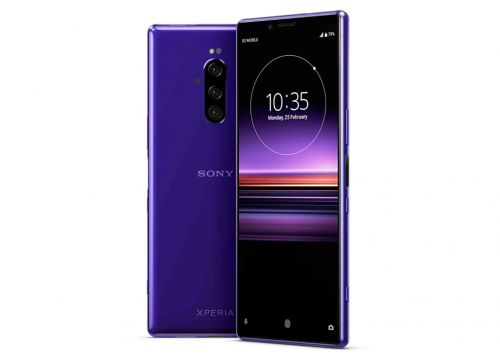 Sony Xperia 1 leaks with triple rear camera setup and purple color