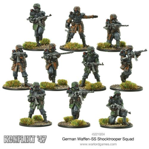 New Waffen-SS Shocktrooper Squad Available For Konflikt '47
