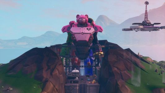 Fortnite's giant monster and robot fight in latest event