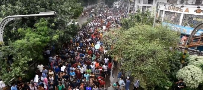 Bangladeshi government sends text alerts to warn citizens about fake news