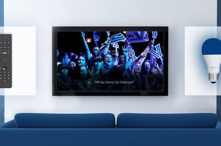 Cheer for your favorite NCAA team and Xfinity will respond with matching lights
