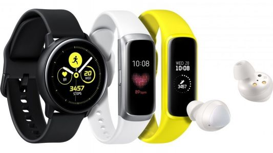 Samsung Galaxy Watch Active and Galaxy Fit wearables announced