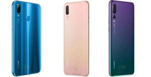 Huawei P20 series leaked to come out in an array of pretty colours