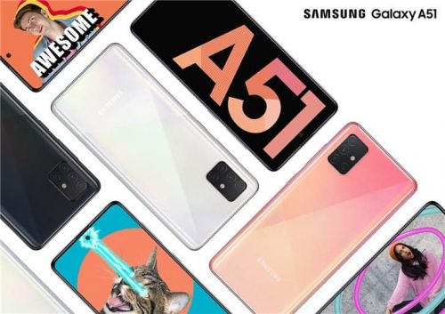 Samsung Launches Galaxy A51 in Europe, Price Starts From $377