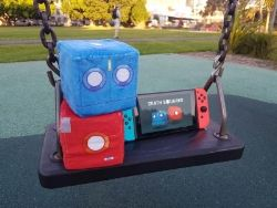 The 3D cooperative puzzler, Death Squared, hits the Nintendo Switch in July
