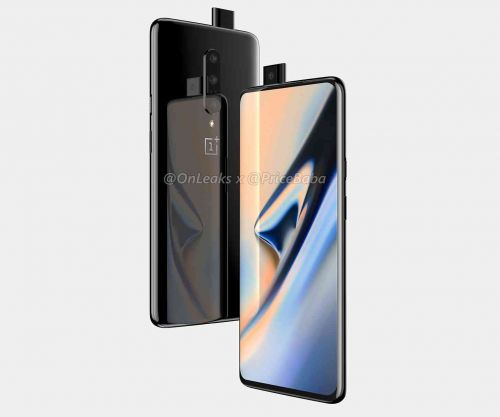 OnePlus 7 renders leak, hint at pop-up front camera and three rear cameras