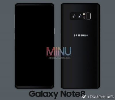 Samsung Galaxy Note 8 Leaks In Real-Life Photo & Render