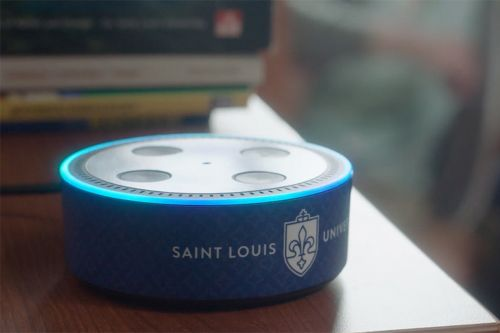 Saint Louis University will put 2,300 Echo Dots in student residences