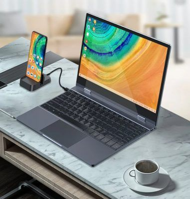 5 laptop docks that let you use a smartphone like a notebook