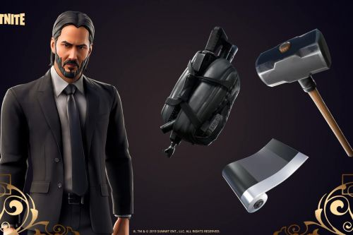 John Wick is officially in Fortnite