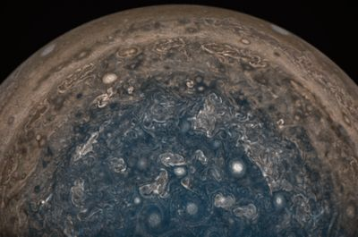 First science data from Juno shows Jupiter is a complex and chaotic planet