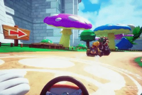 Tokyo's VR Mario Kart is more rollercoaster than video game