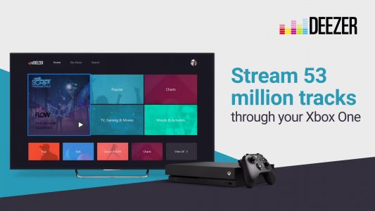 Deezer comes to Xbox One for tune streaming while you play