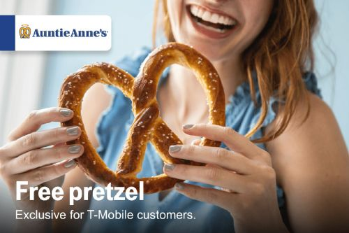 T-Mobile Tuesdays will offer a free pretzel and a discounted Tinder Gold subscription next week