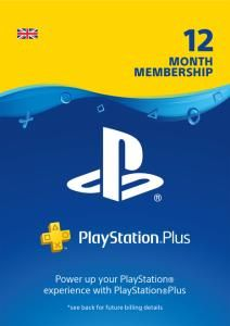 UK Daily Deals: PS Plus 12 Month Subscription for £34.85