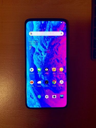 Alleged OnePlus 7 Real-Life Image Appears With Upside Down Home Screen