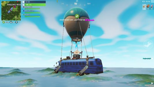 What it was like to play Fortnite for the first time