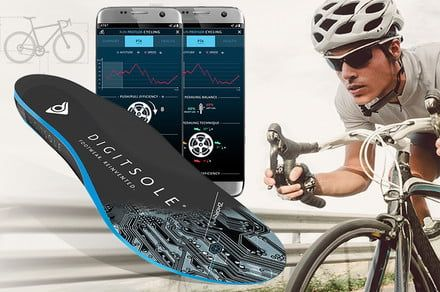 Digitsole's A.I.-powered insoles strive to improve your cycling performance