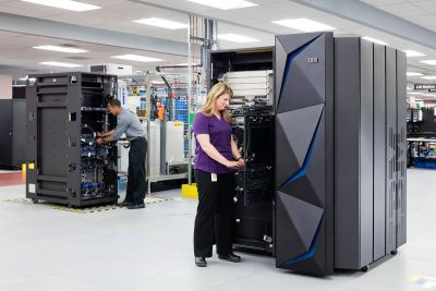 IBM's new mainframe keeps everything encrypted, all the time