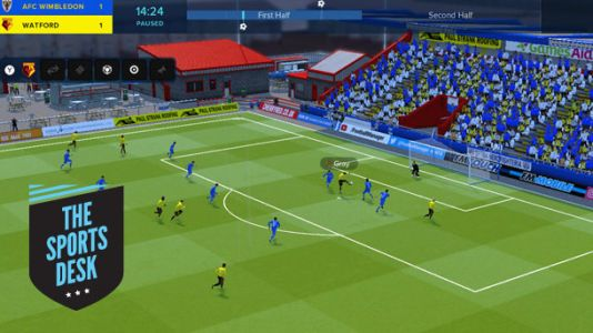 The Sports Desk - Football Manager Touch 2018 Strikes The Switch