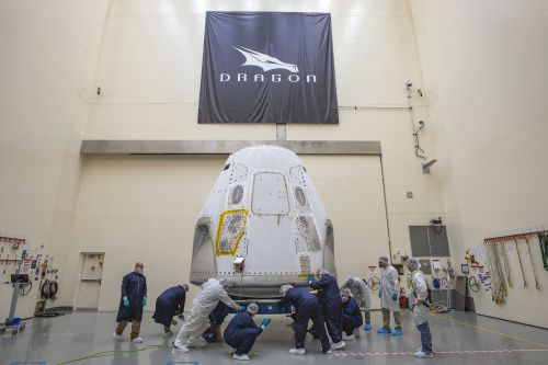 Max Q: Spacex gets ready for first human flight