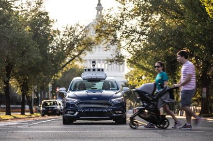 Ford's self-driving cars hit the streets of the nation's capital