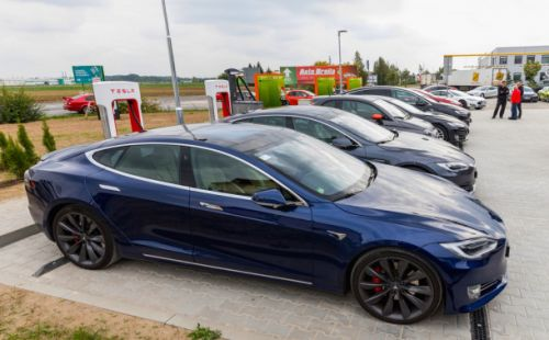 Teslas used for commercial purposes like Uber are no longer welcome at Supercharger stations