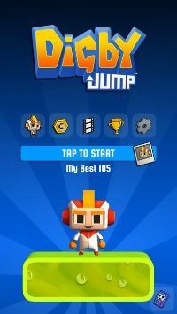Digby Jump trades endless digging for vertical platforming, available now on iOS