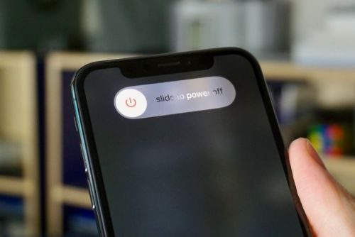 How to power off your iPhone X