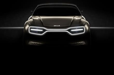 Kia is bringing a bionic-looking electric concept car to the Geneva Auto Show