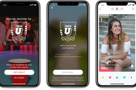 Tinder wants you to help you make friends at school this year with Tinder U