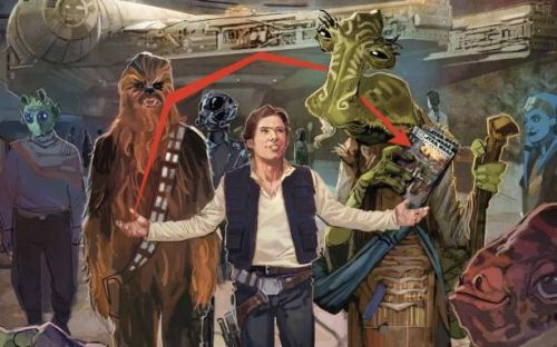 Return of the Jedi question answered in new Star Wars land comic